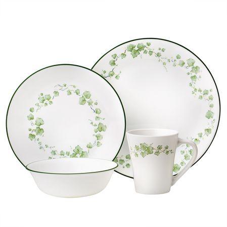 #Corelle Impressions™ Callaway 16-pc Dinnerware Set - An elegant floral design in  sc 1 st  Pinterest & Corelle Impressions™ Callaway 16-pc Dinnerware Set - An elegant ...