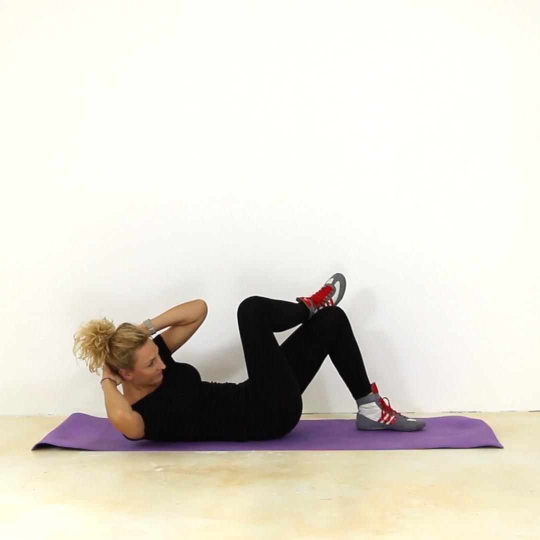 Die ultimativen Übungen für einen tollen Bauch. #fitness #workout #bauchfett