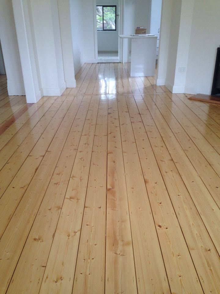Gorgeous Old Baltic Pine Floor Brought Back To Life Sanded And