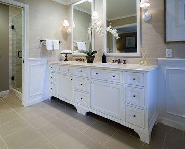 Stauraum Badezimmer ~ Doppelwaschbecken beige töne stauraum badezimmer