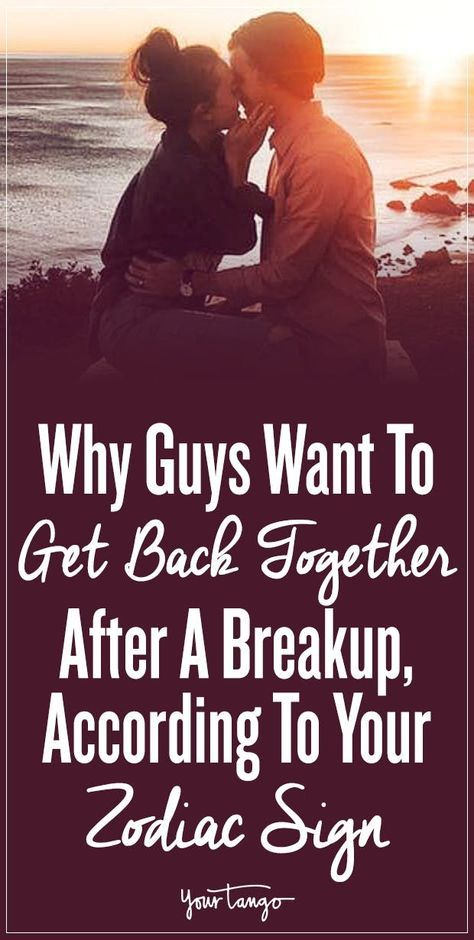 Why he wants you back