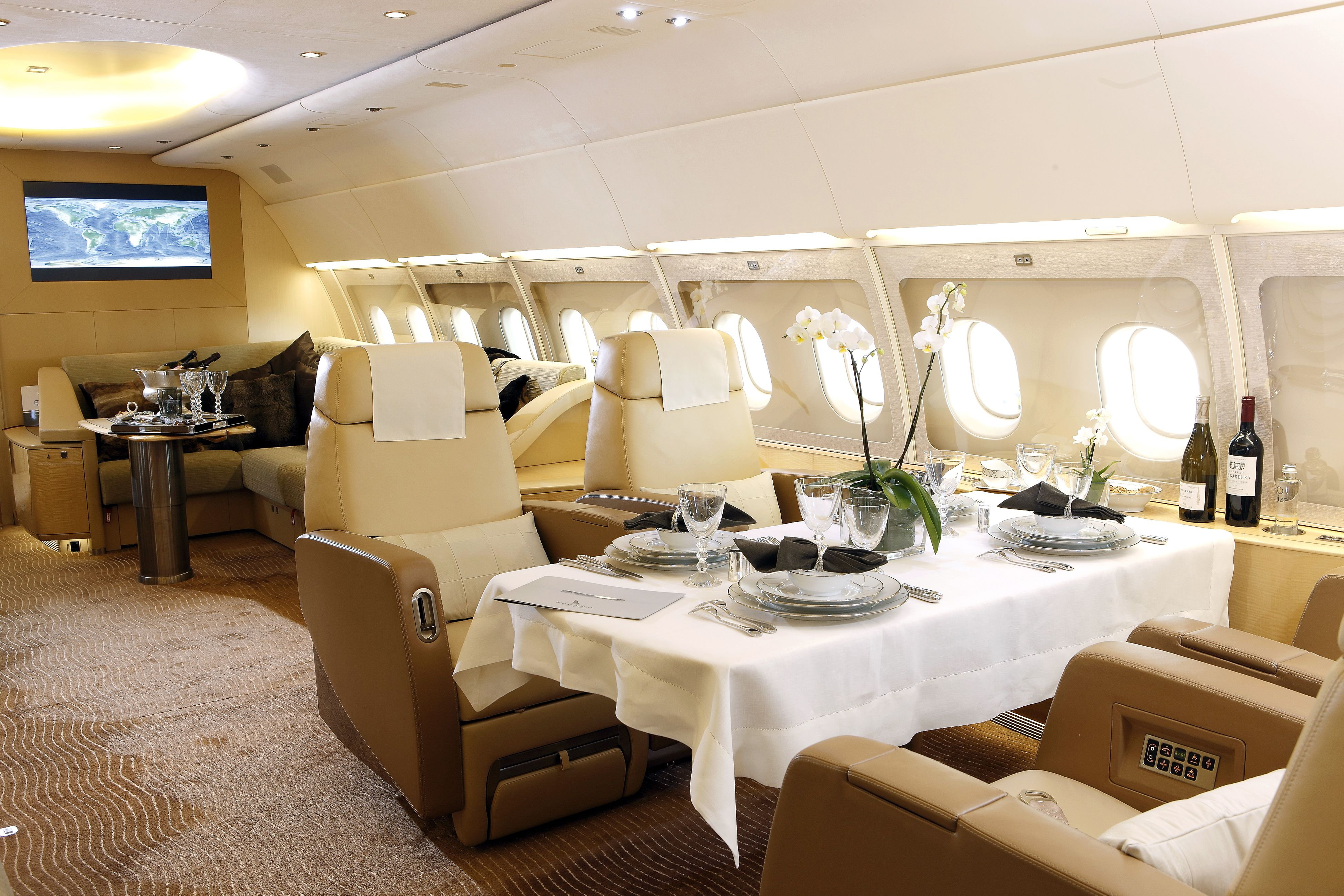 Airbus A319 Corporate Jet Available for Charter. Travel
