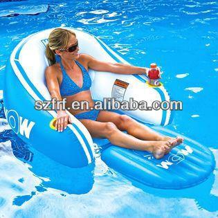 Inflatable Pvc Air Mattress Air Bed Beach Floating Mattress Inflatable Pool Lounge Chair 6 10 Pool Lounge Pool Pool Chairs