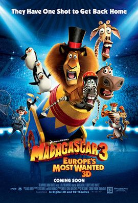 Madagascar 3: Europe's Most Wanted (2012) DVD release date: after