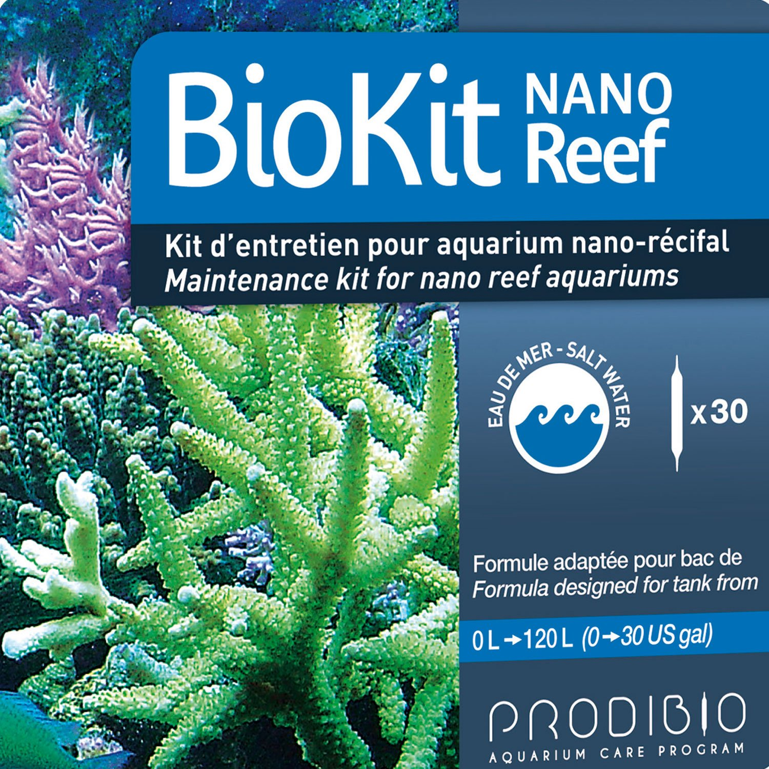 $45 30 vial kits is a 10 week care program for nano reefs up to 40