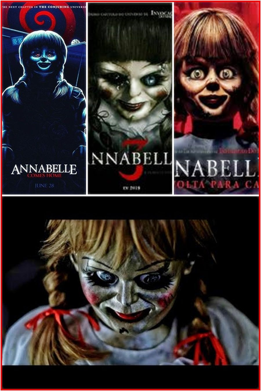 Annabelle 3 Streaming Film C O M P L E T O 2019 Horror Movie Posters Movies Watch Tv Shows
