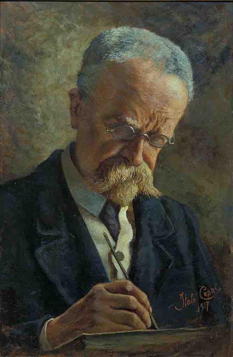 Quinto Cenni (Imola 1845 - Carate Brianza 1917)   Mostre di Pittura ed Esposizioni d'arte