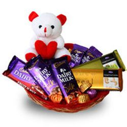 Chocolate Basket On Valentine Day Gifts For Your Loved One In Hyderabad India