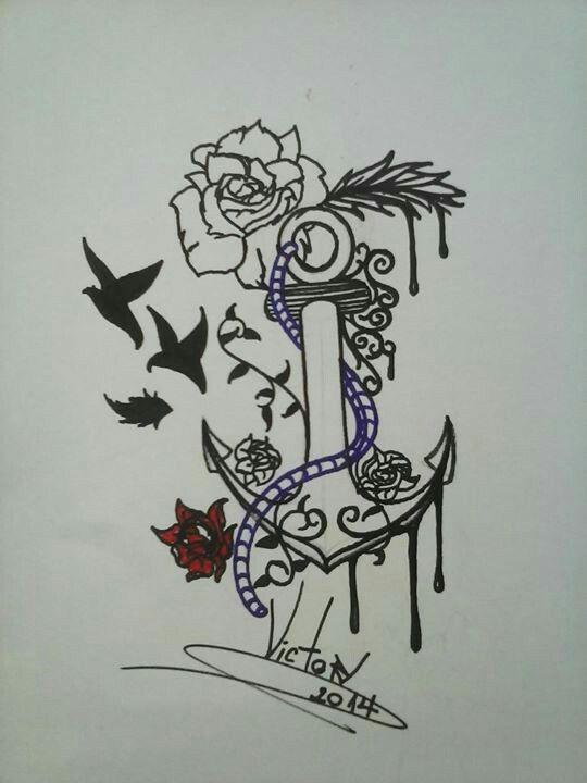 Desenho finalizado ANCORA