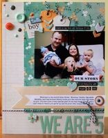 A Project by justem from our Scrapbooking Gallery originally submitted 10/19/13 at 05:02 PM