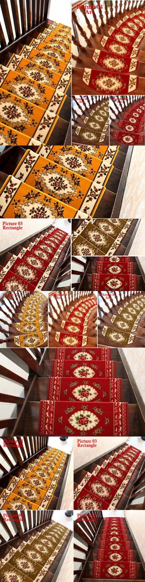 Best Stair Treads 175517 13 Pieces Stair Treads Staircase Mat 400 x 300
