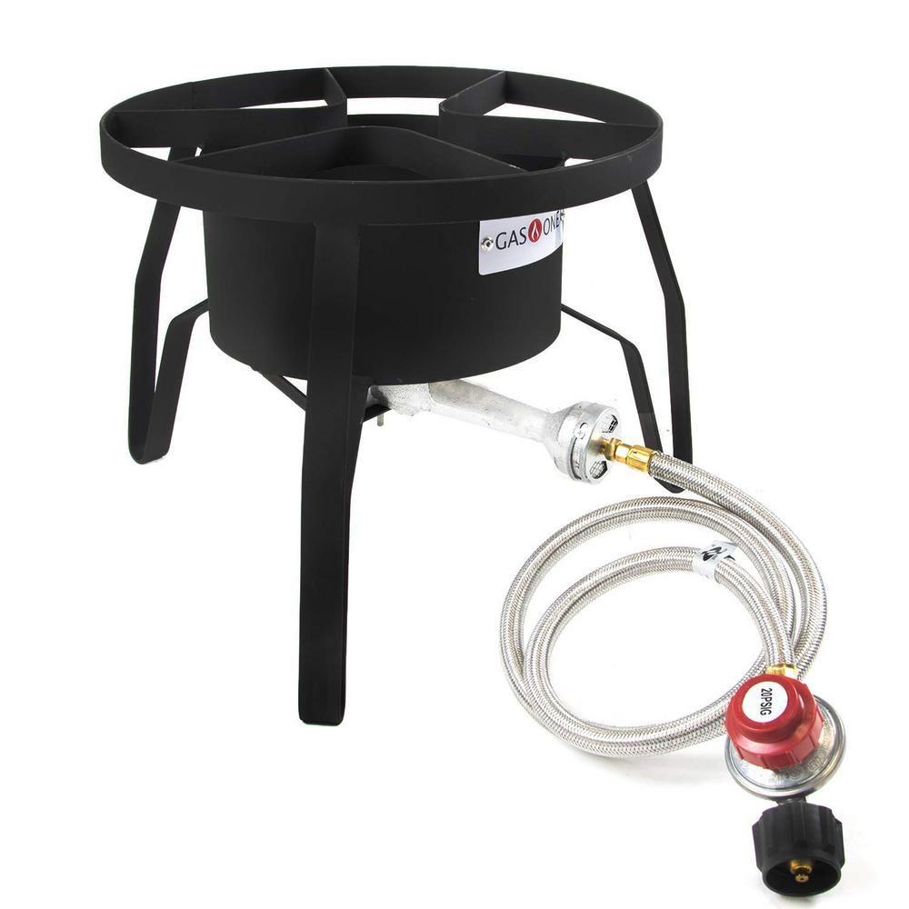 King Kooker 24in Outdoor Cooker Steel Wok-2 Utensils 24WC