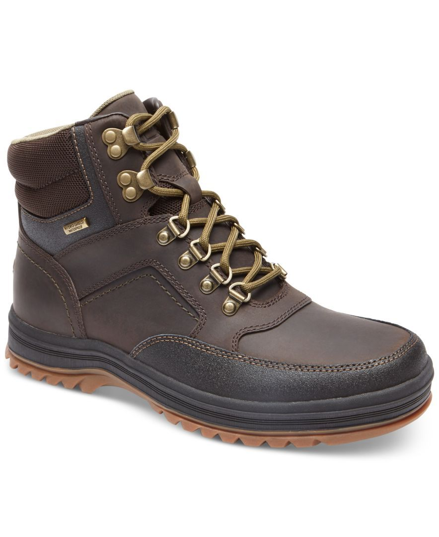 Rockport Men's World Explorer Waterproof Mid Boots