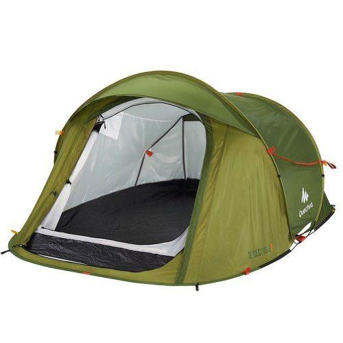 DECATHLON 2 Seconds Pop Up Easy-to-carry Tent 2 PersonGreen QUECHUA  sc 1 st  Pinterest & DECATHLON 2 Seconds Pop Up Easy-to-carry Tent 2 PersonGreen ...