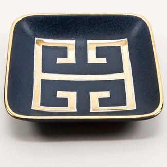 love a golden greek key