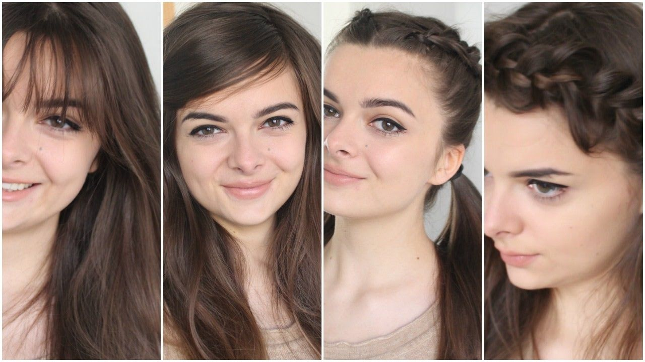 How To Hide Bangs With Images Hide Bangs Hair Styles