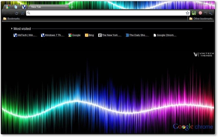 Google Chrome Themes - The Dark Arts [Abstract Art Themes] | Google