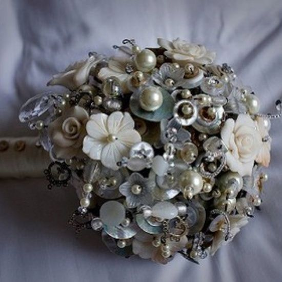 Metal Bouquet Flowers Alt Bouquets Jewelled Made From Diffe