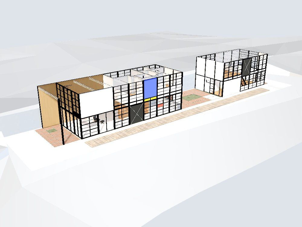 Check Out This Interactive 3D Model Of The #Eames House On Archilogic