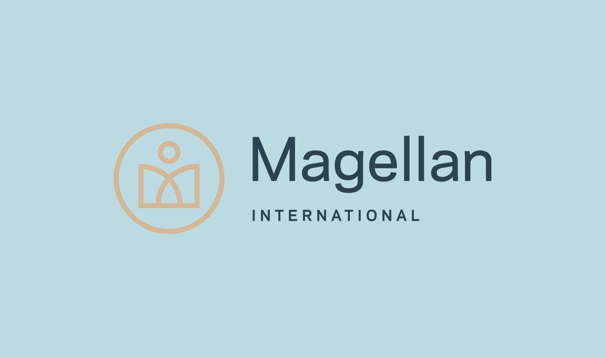 Magellan international logo variation flywheel co