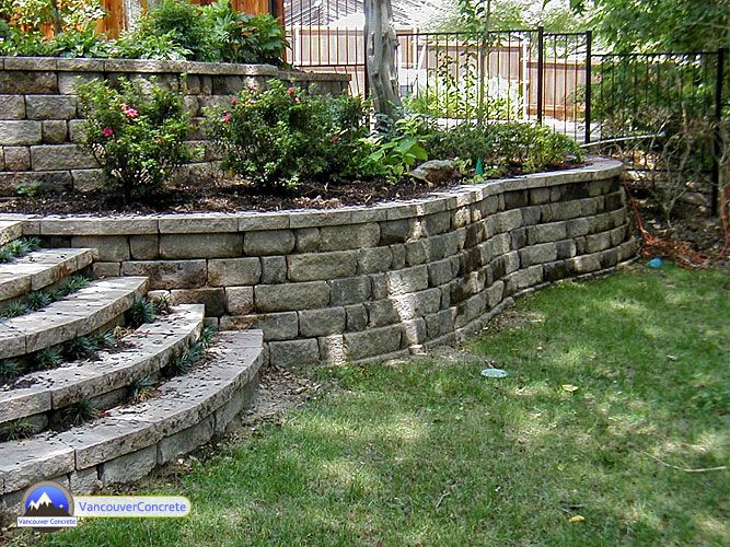 Pin By Derek Comeens On Outdoor In 2020 Landscaping Retaining Walls Backyard Landscaping Concrete Retaining Walls