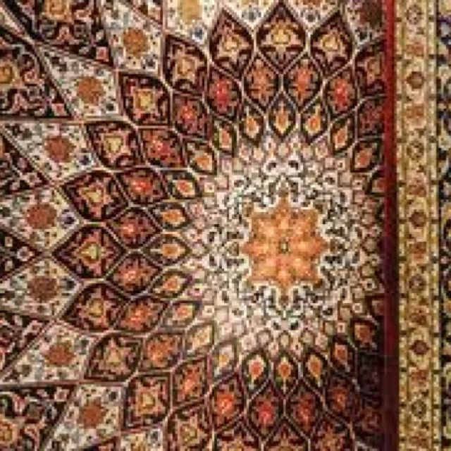 Best Detail Of A Traditional Pakistani Carpet Dark Carpet 400 x 300