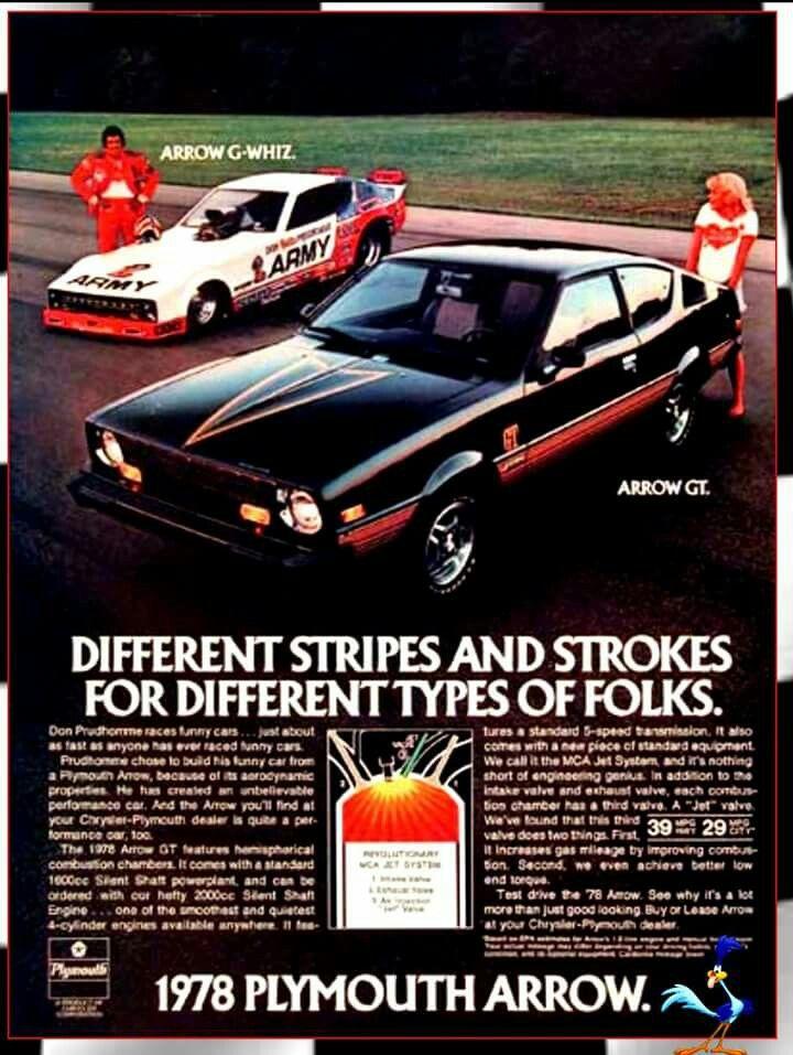 78 Plymouth Arrow   1970-1979 Cars & Trucks   Pinterest   Plymouth ...