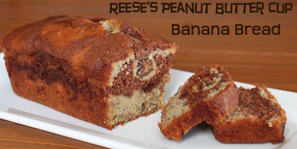 Reeses Peanut butter banana bread