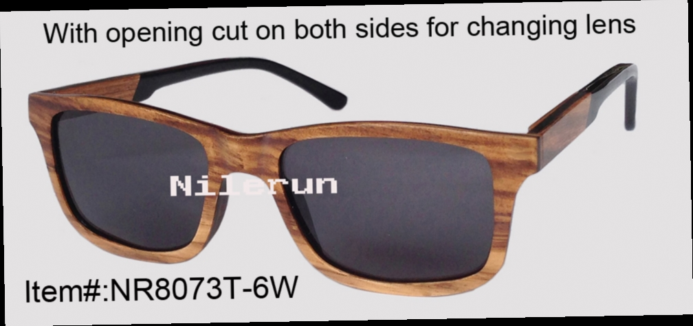 48.50$  Buy now - http://ali94u.worldwells.pw/go.php?t=32315356307 - classical rectangle zebra wood sunglasses with acetate temples