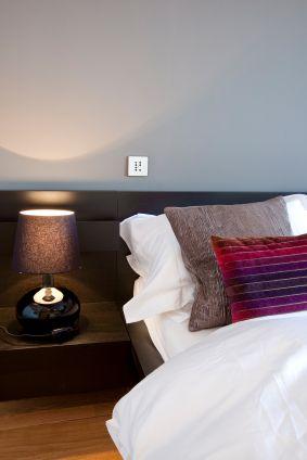 Light Gray Walls...love the pillows too