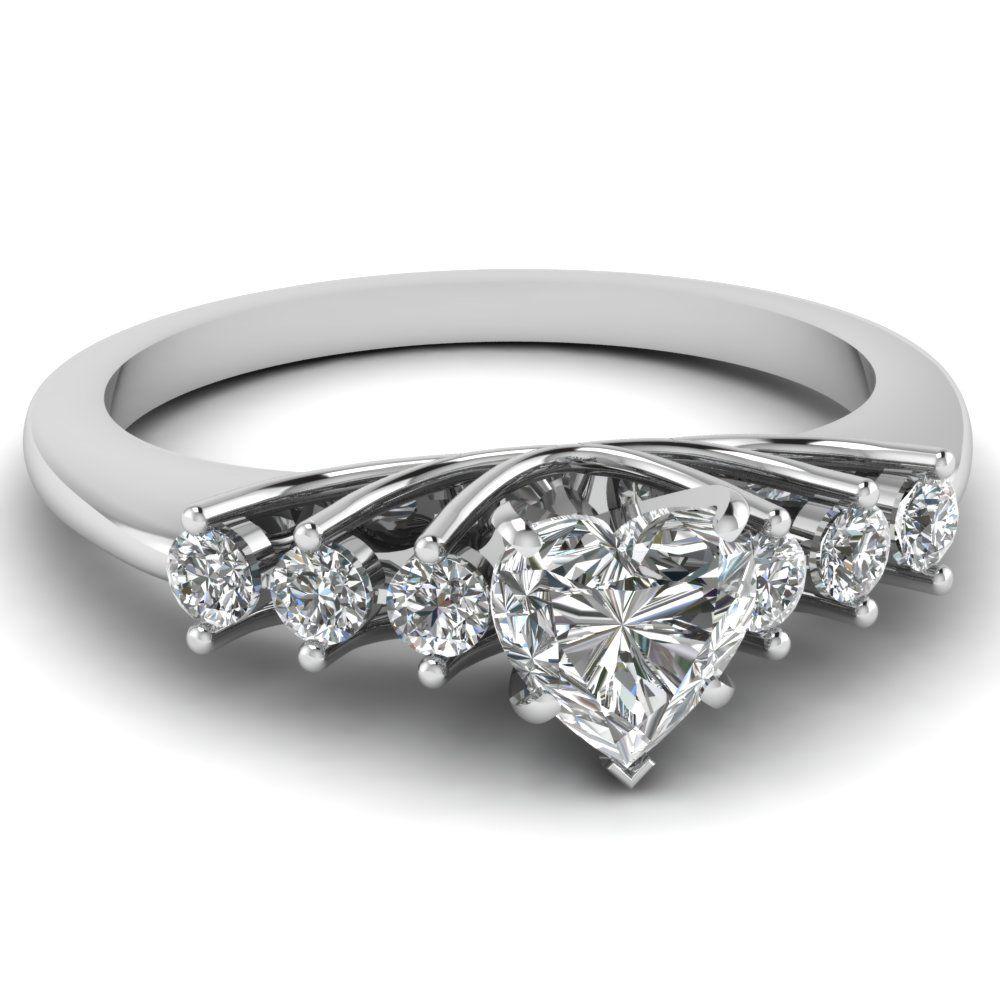 1388c1d2d956 white-gold-heart-white-diamond -engagement-wedding-ring-in-prong-set-FDENR7719HTR-NL-WG