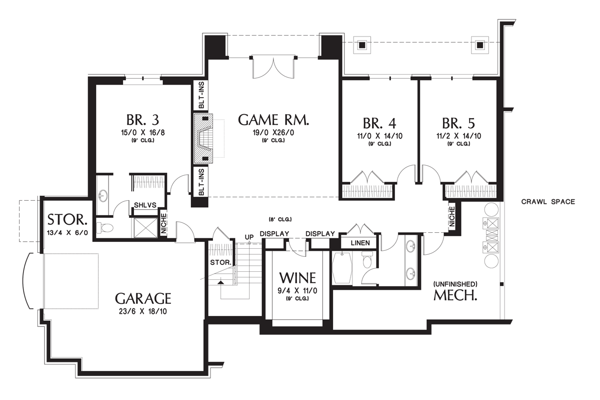 House plan the hendrick houseplans home pinterest