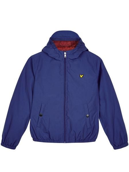 Junior Lyle /& Scott Duke Blue Long Sleeve Polo Shirt