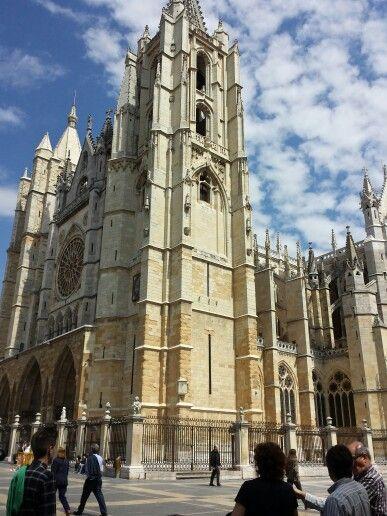 Catedral de León.  España