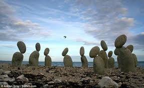rock sculptures