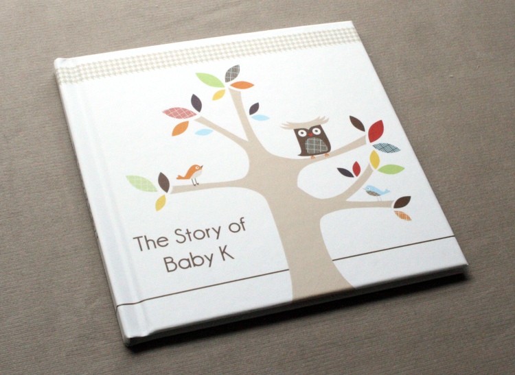 Baby Bump Book; Document pregnancy with Photos, Ultrasounds, Footprints