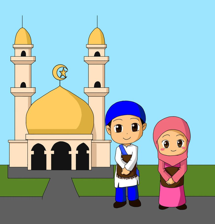 ission for Childrens Book Go to Mosque and Praying to