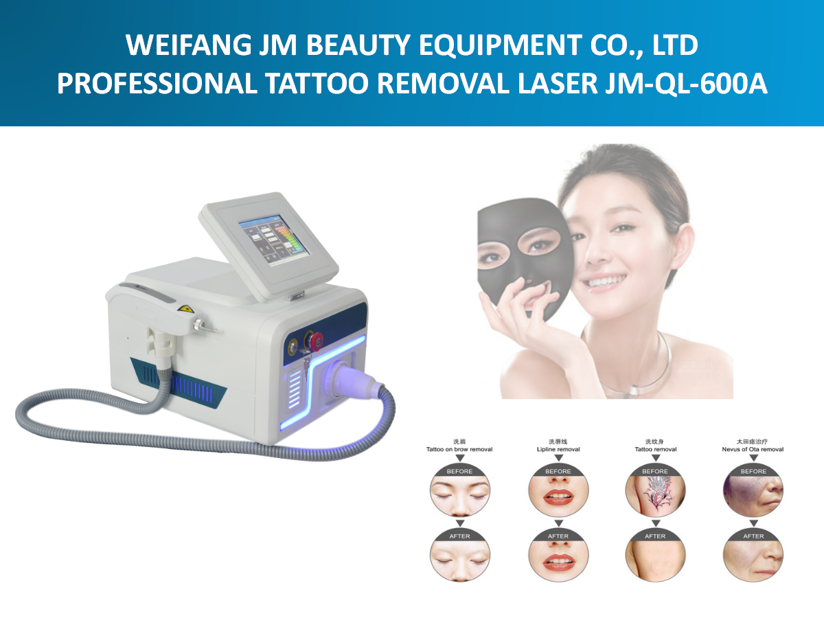 Portable Q switch Nd yag laser machine for sale! Factory