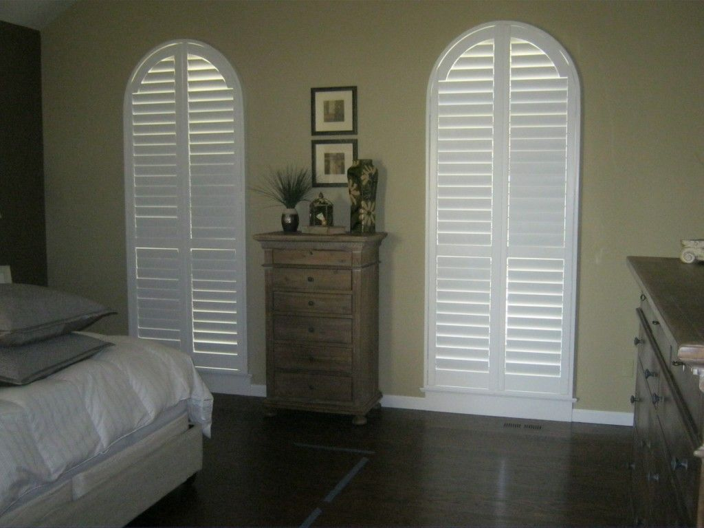 Attractive How To Decorated Your Specialty Shape Window With Plantation Shutter By  Windo Van Go; Circle