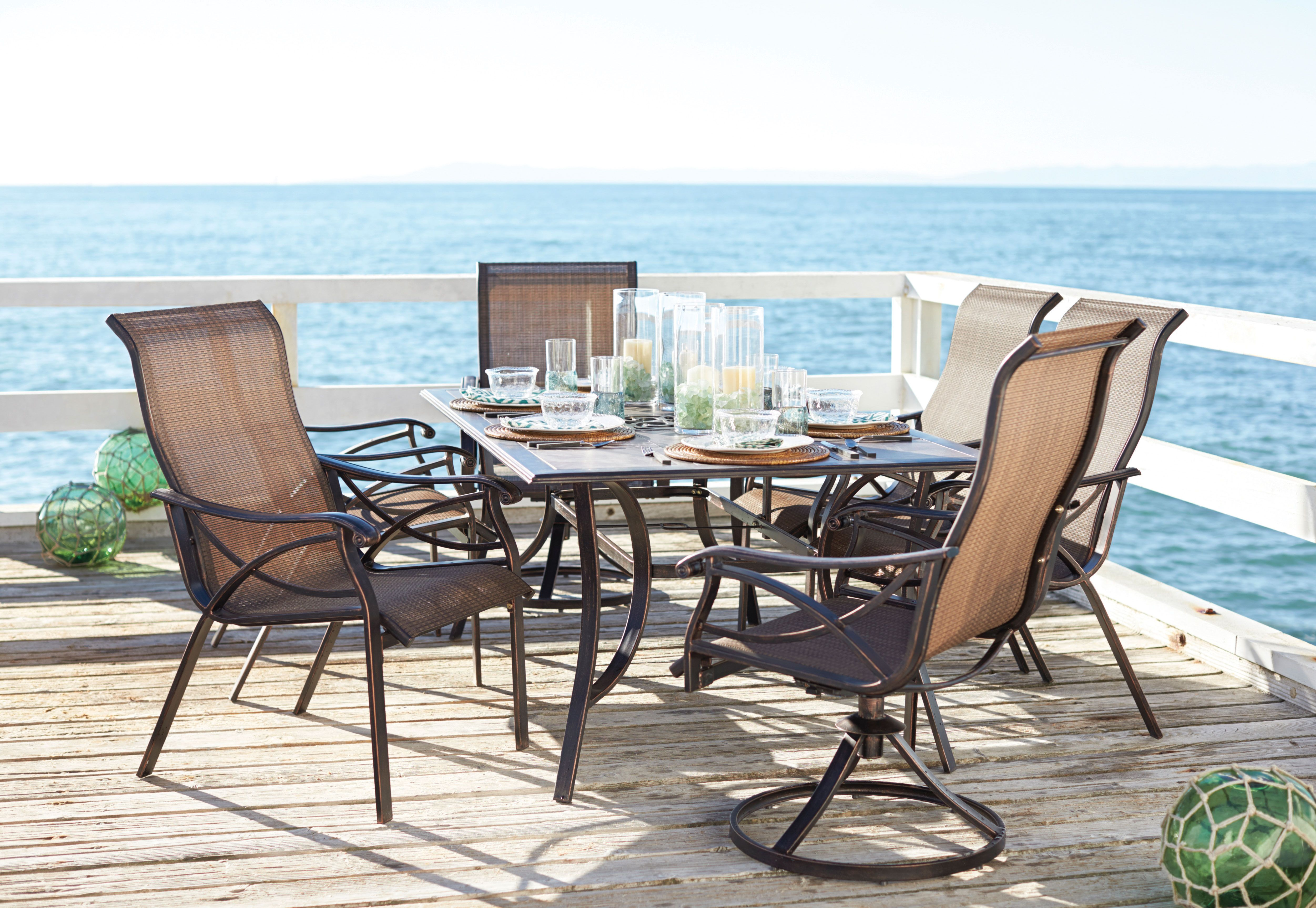 Point Reyes Collection 7 Piece Dining Set