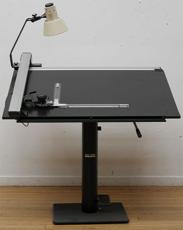 Drafting Supplies | ... Of Forgotten Art Supplies   Mutoh Drawing Table And  Drafting Bar
