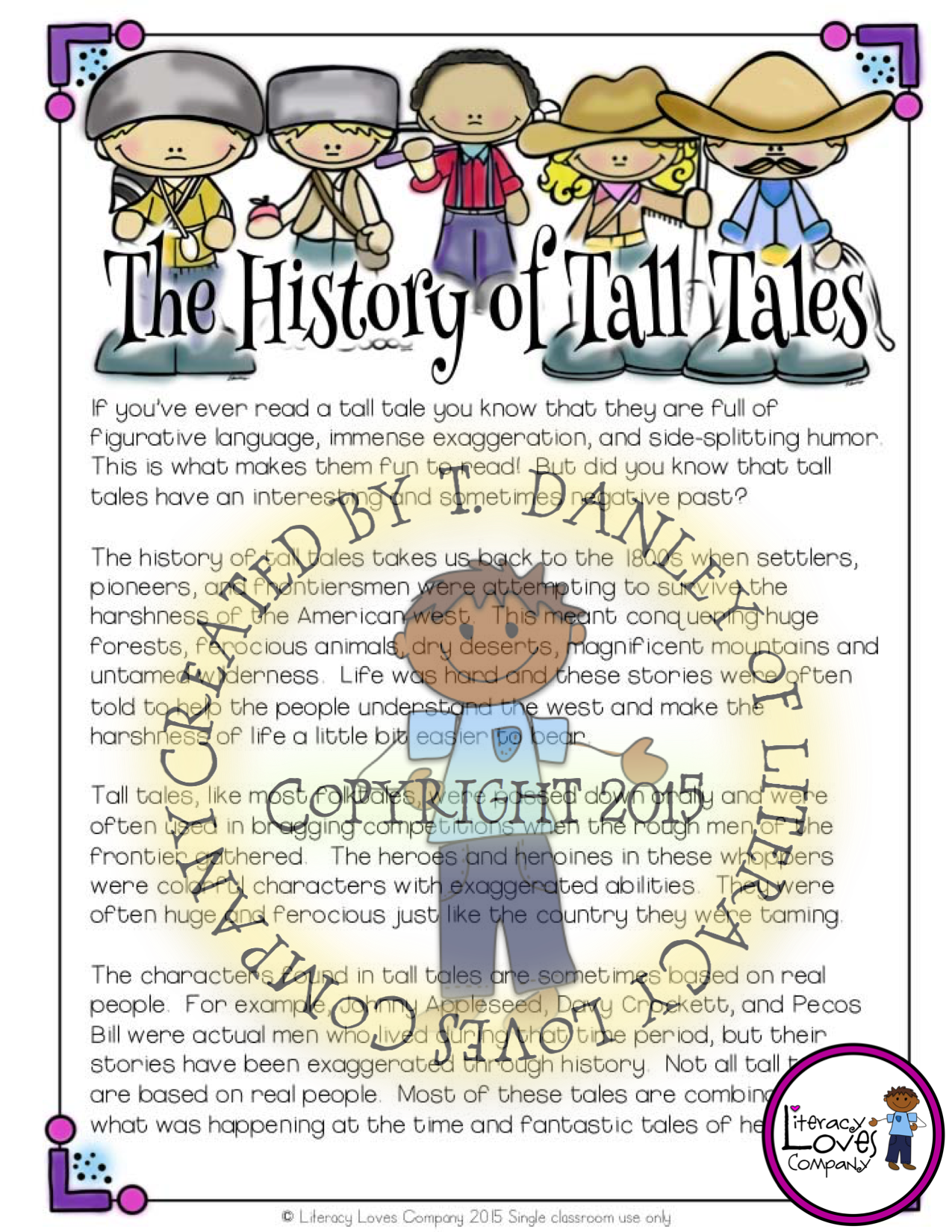 Tall Tales An Ela And Art Integrated Unit With Images