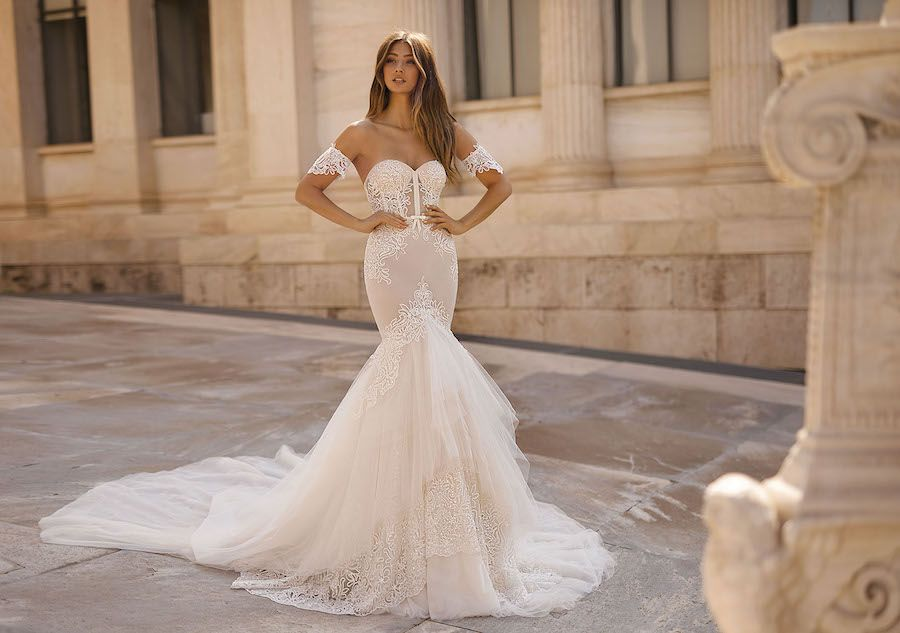 Glamorous 2019 Berta Wedding Dresses: Athens Collection #bertaweddingdress