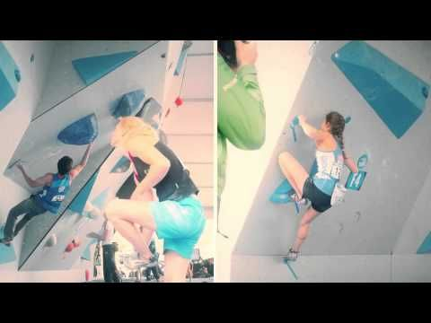 Women's climbing competition - size up those climbing spots!