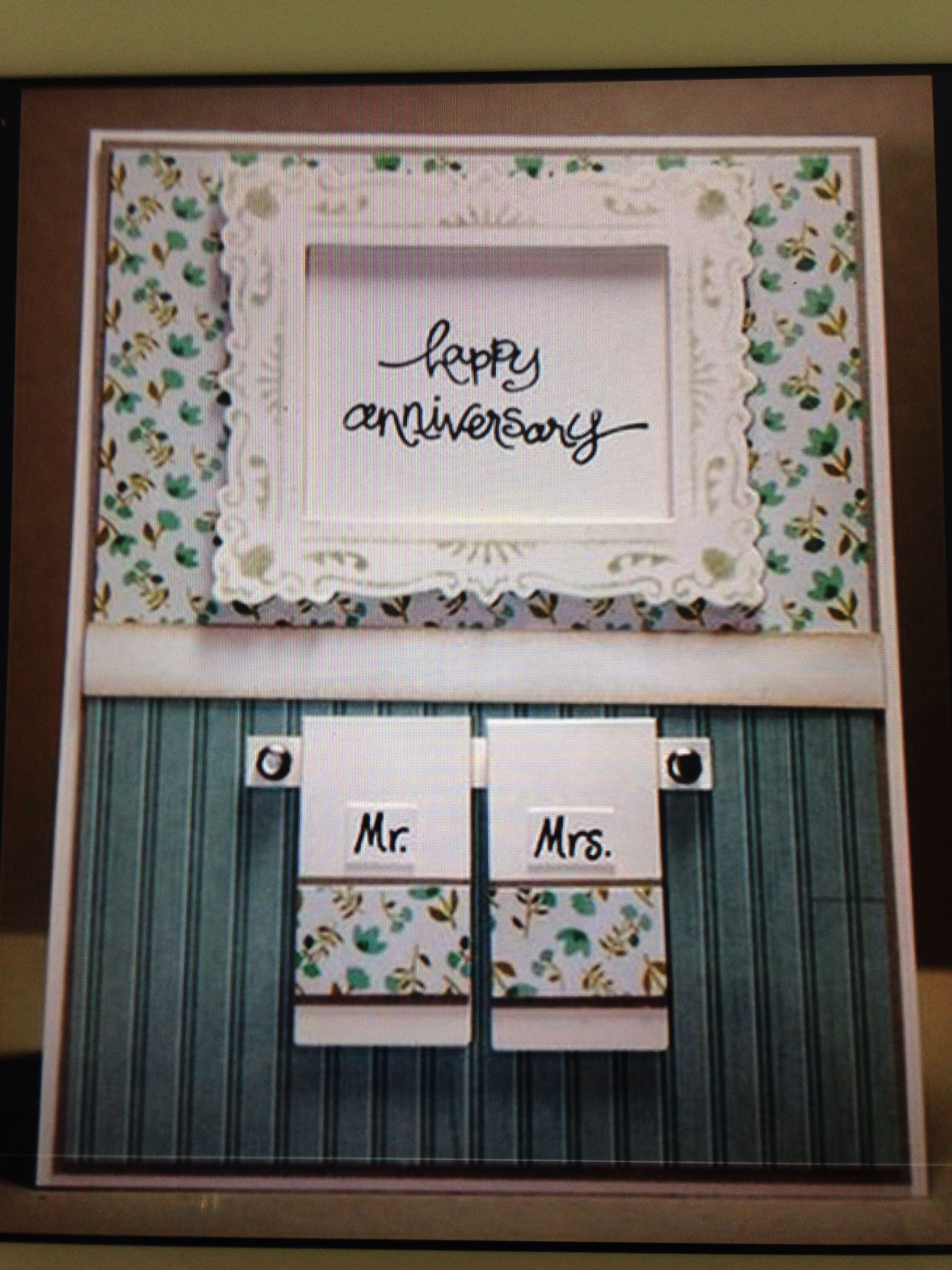 Anniversary Cards Pinterest Anniversaries Cards And Wedding Card