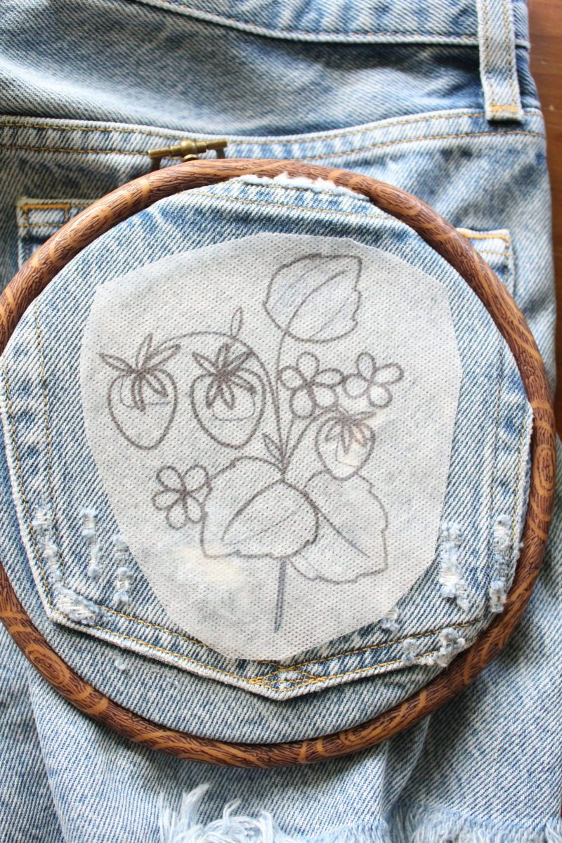 How to Embroider Clothes - Easy DIY - Crewel Ghoul