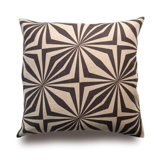 Zanzibar Natural Linen Cushion, Cushions, Soft Furnishings, £59.00, Abode