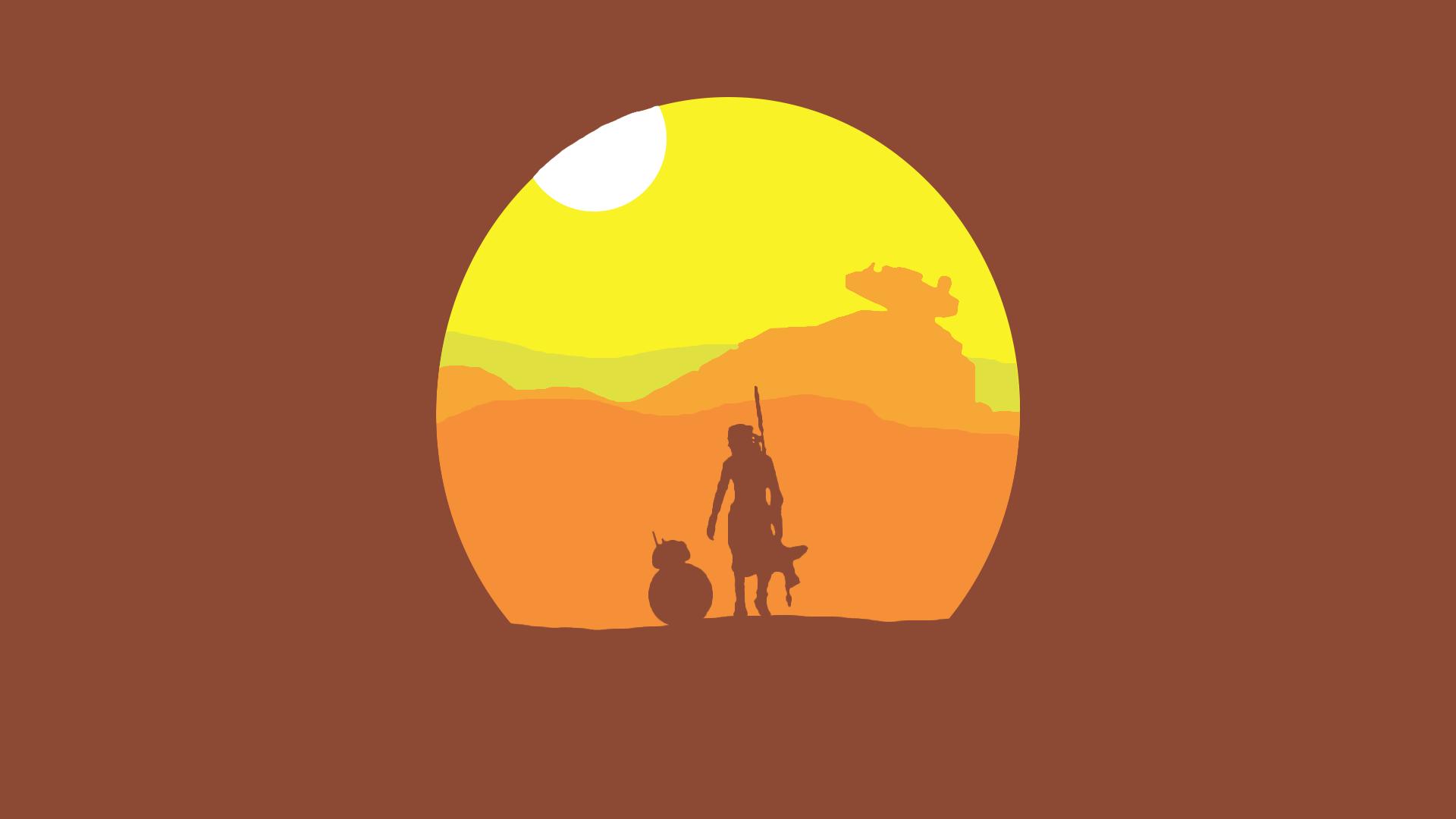 Minimal Star Wars Wallpapers in 2020 Star wars wallpaper