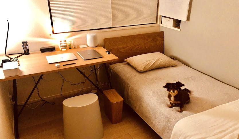 仕事と睡眠は同じ部屋で イラストレーターのonとoffが共存する暮らし わたしの部屋 Roomie ルーミー 部屋 暮らし インテリア