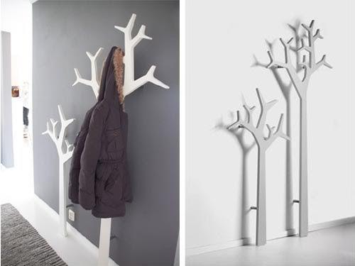 tree swedese le design prend racines Pinterest Portemanteau, Racines et Déco salon